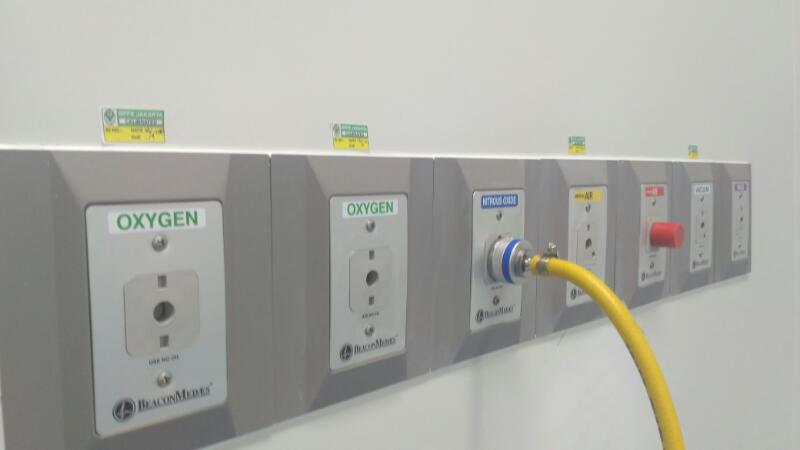 Kalibrasi sistem gas medis oleh BPFK
