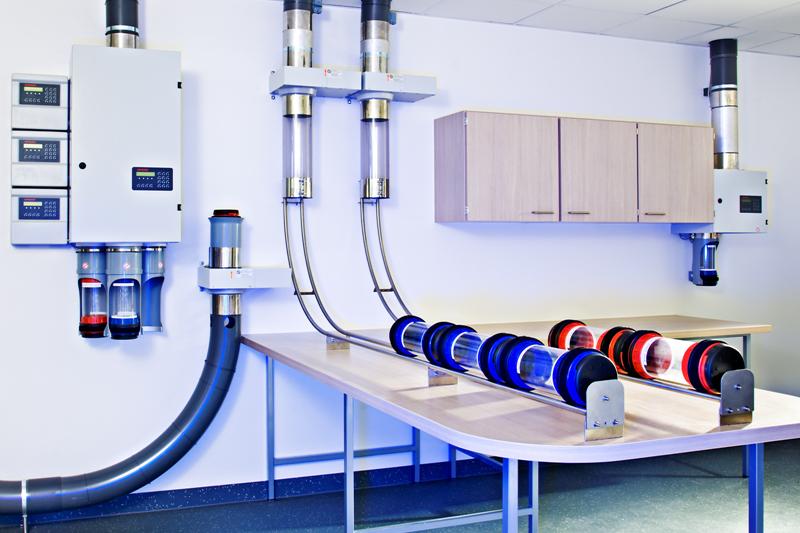 Pneumatic tube system rumah sakit