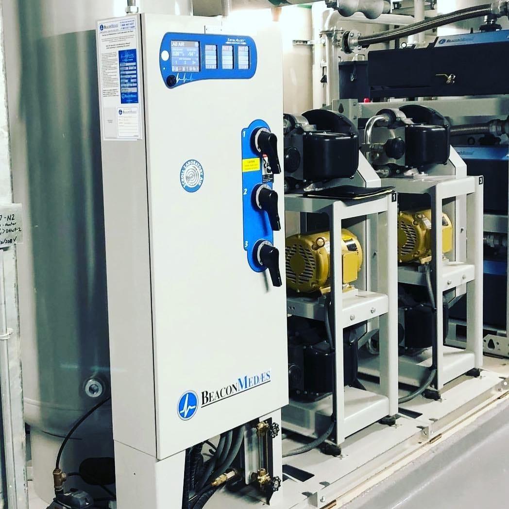 Sistem sentral medikal air atau udara tekan gas medis